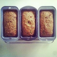 Homemade Carrot Apple Kale Ginger Raisin Walnut Whole Wheat Bread. (Made with the leftover pulp from my juicer.)