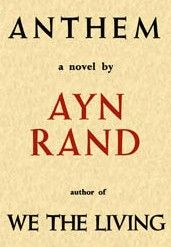 Anthem by Ayn Rand. Good introduction into Ayn Rand. Ayn Rand Books, Good Books, Books To Read, Ap Literature, Essay Contests, Quick Reads, Essay Examples, Writing A Book, Novels