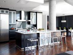 Urban Spaces: Minimalist Modern Atlanta Loft : Decorating : Home & Garden Television