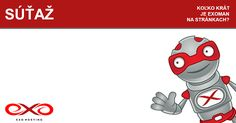 Súťaž s EXOMANom na našom facebooku o novú doménu .SK a hosting na rok! www.facebook.com/Exohosting.sk New Tricks, Exo, Facebook, Signs, Shop Signs, Sign