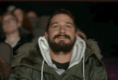 WATCH / What exactly *is* Shia LaBeouf watching anyway?