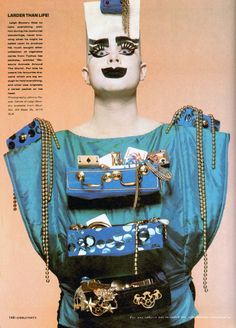 Leigh Bowery for I-D Magazine, 1980s