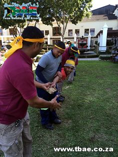 Lava Flow Team Building Activity