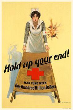 WW1 Red Cross poster