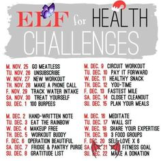 Would love to do this!<br> 6 Week Challenge, December Challenge, Beach Body Challenge, Health Challenge, Workout Challenge, Health And Wellness, Health Tips, Health Fitness, Singing Exercises