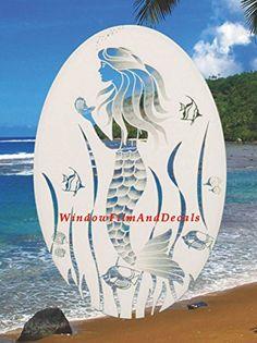 "Oval Mermaid Etched Window Decal Vinyl Glass Cling - 26"" ... https://www.amazon.com/dp/B004I9X16E/ref=cm_sw_r_pi_dp_x_bOEOxb4TJ8AQG"