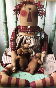 Primitive Doll PATTERN - Cookie - CK161