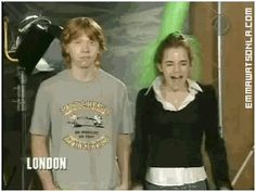 When he took this slime like a man. | 27 Times Rupert Grint Was The Best Member Of The Harry Potter Cast