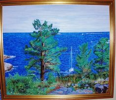 Margareth Giskegaard, SUMMERTIME, Year signed: 1992,  Artist : Margareth Giskegaard, Size :0,55 cm long x 0,47 cm high on ArtStack #margareth-giskegaard #art