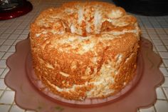 Ww Peach Angel Food Cake - add can of peaches, including juice.