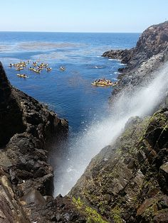 La Bufadora - Ensenada, Baja California, Mexico
