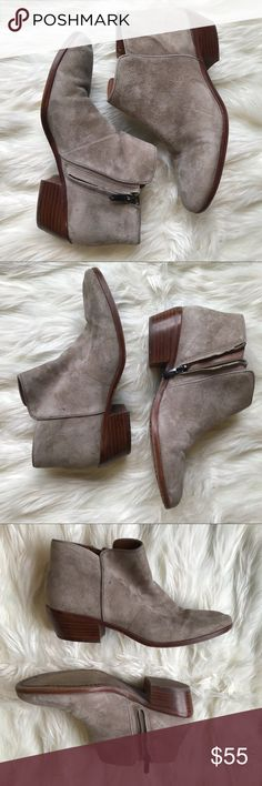 23414baf6 Sam Edelman Petty Suede Booties, Size 7 1/2 Sam Edelman Petty Suede Ankle