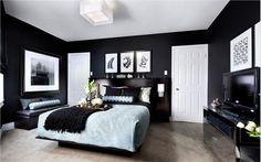 Contemporary (Modern, Retro) Bedroom by Jane Lockhart