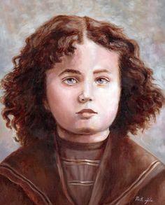 Ruth Gila Zavidowsky (Morocco) The Lubavitcher Rebbe at Age 3