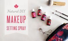 Natural DIY Makeup Setting Spray   Young Living Canada Blog