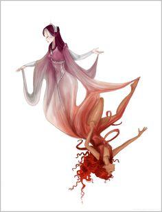 Sacred and Profane Love by Arbetta.deviantart.com on @deviantART