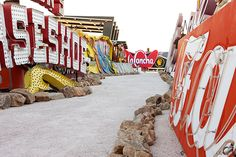 The 14 Reasons We LOVE Las Vegas #refinery29  http://www.refinery29.com/las-vegas-vacation#slide10  Neon Museum  If you're a fan of old Vegas history, the Neon Museum is a must! Beautifully curated and stock piled with all sorts of nostalgic treasures, this place is typography heaven. Just make sure to book one of the earlier morning tours, and save yourself the inevitable sunburn from an afternoon visit.   The Las Vegas Neon Museum, 770 Las Vegas Boulevard (at East Winston Avenue), ...