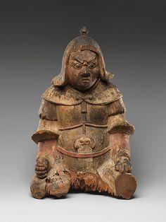 Daishô gun Period: Heian period (794–1185) Date: 11th–12th century Culture: Japan Medium: Wood Dimensions: H. 13 1/2 in. (34.3 cm) Classification: Sculpture