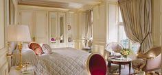 Overlooking the courtyard, so romantic / Le Meurice / Paris $884