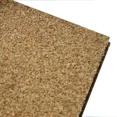"""Cork underlayment that is 1/4"""" thick, on a roll that is 4' wide by 100' long.  Available at Lowe's, this is a good alternative for the shop floor."""