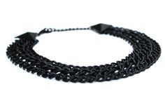 Necklace from our Black Collection that you can dress up or wear it out on a casual night out. Show your individuality with little additions to your outfit
