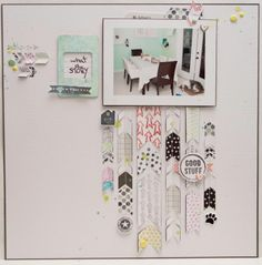 #papercraft #scrapbook #layout.  what a story by Kateroar at @Studio_Calico