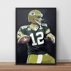 Aaron Rodgers  Green Bay Packers  Nfl  Nfl by TroutLifeStudio