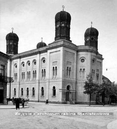 Reformed Synagogue in Stanislawow.