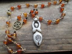 Great Mother prayer beads