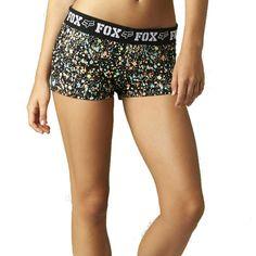 2015 Fox Racing Womens Image Gym Athletic Sun Summer Casual Shorts