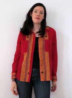 Archer Blouse from Bangladeshi Fabric | Seamstress ErinSeamstress Erin