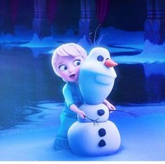 Hi, I'm Olaf, and I like warm hugs!
