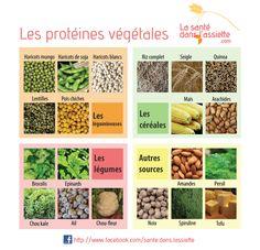 La Santé dans l'Assiette: Fiche pratique - Les protéines végétales