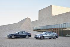 Zevende generatie BMW 5-serie is mini 7-serie en eerste auto met draadloze Apple CarPlay