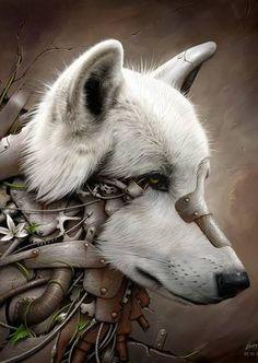 Steampunk wolf by BenF :)