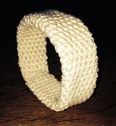 Gehaakte armband! Het brede model!