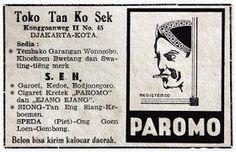 Tembakau PAROMO _1949