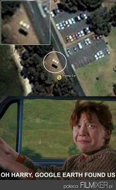 Google VS Harry Potter // www.filmixer.pl