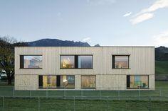 Kindergarten Susi Weigel ,Bludenz, Austria/ Bernardo Bader Architects