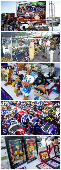 The best way to spend Thursdays in Puerto Vallarta is at the Marina Market!