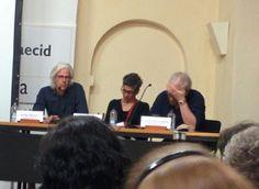 Jacobo Siruela, Margarita Valencia y Claudio López de Lamadrid