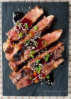 Beef Teriyaki Steak by pigpigscorner, via Flickr