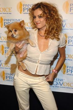 Paulina Rubio during The Fourth Annual Pantene Pro-Voice Concert