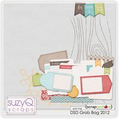 DSD 2012 Grab Bag by SuzyQ Scraps