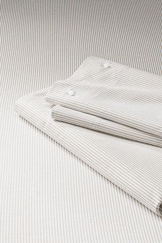 Stripe Oxford Sheet Set or Pillowcase from Lands' End $149