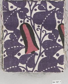 Sample book of printed textiles Various Unknown Designers Manufacturer: Manufacturer Wiener Werkstätte Date: early 20th Century Culture: Austrian Medium: Linen Dimensions: Each: H. 5, W. 6-1/4 inches