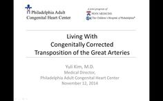 Do you have congenitally corrected transposition of the great vessels (CCTGA)?  If so, you don't want to miss this webinar.    Dr. Yuli Kim, ACHD cardiologist,…