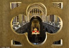 Visitors can access the 16-metre high knave via a stone spiral staircase. It is known as 'La Porta del Cielo' - the gateway to heaven. And looking at the magnificent star-studded ceilings and gilded statues of Siena Cathedral its easy to understand why.