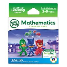 LeapPad™ PJ Masks Time to Be a Hero Learning Game | Target Australia
