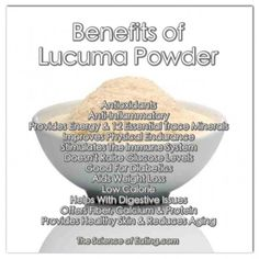 Benefits Of Lucuma Powder: Did you know Lucuma can help reduce stress and increases vitality by supporting the adrenal glands! Organic Recipes, Raw Food Recipes, Healthy Tips, How To Stay Healthy, Healthy Foods, Healthy Recipes, Health And Nutrition, Health And Wellness, Gut Health